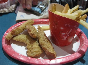 Chicken Tenders at Walt Disney World