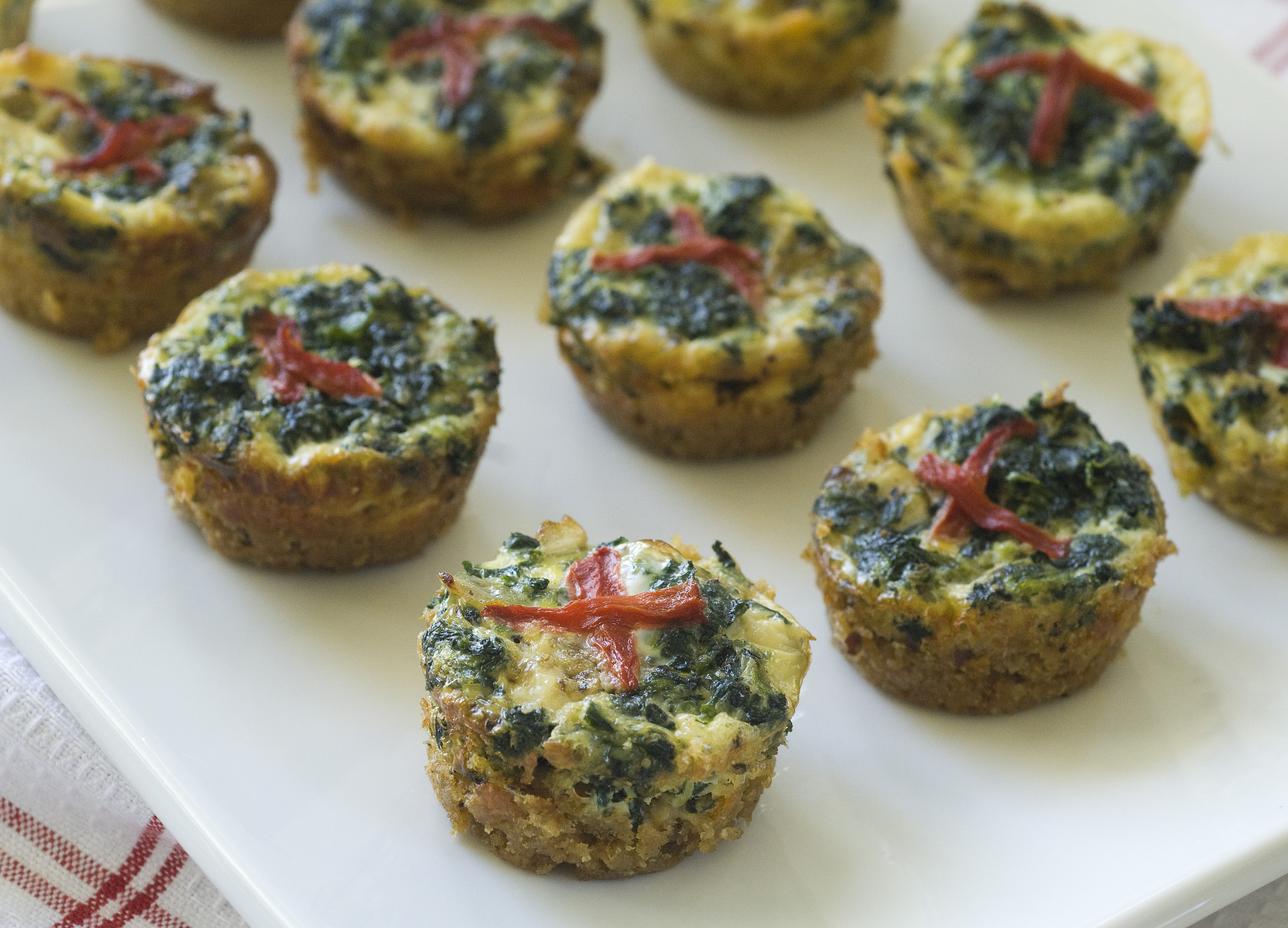 Gluten Free Mini Quiches Recipe — Dishmaps