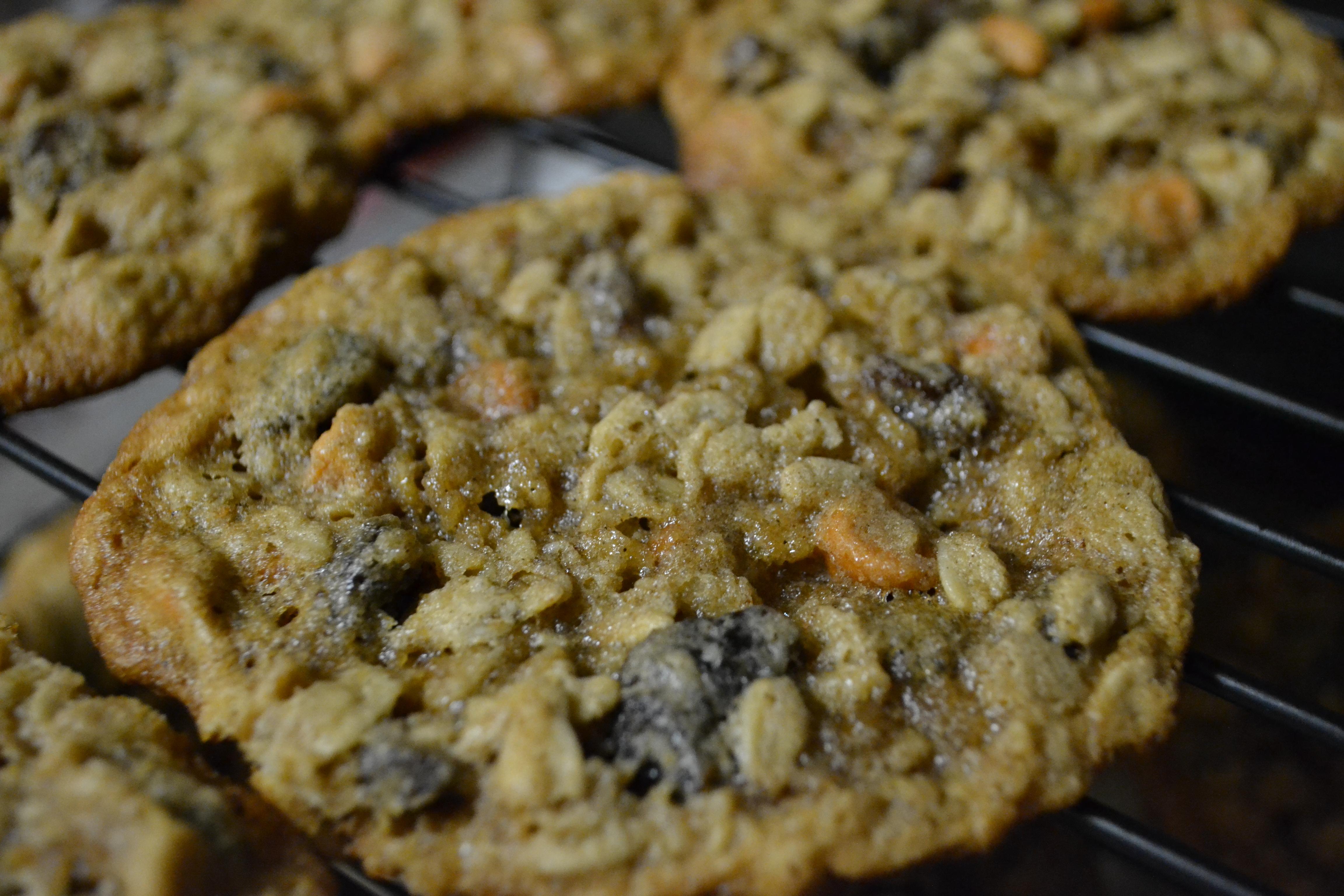 Chewy Oatmeal Raisin Cookies | Delightfully Gluten Free (TM)