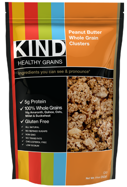 Gluten-free granola, peanut butter