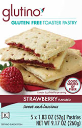 Gluten-Free Strawberry Toaster Pastry