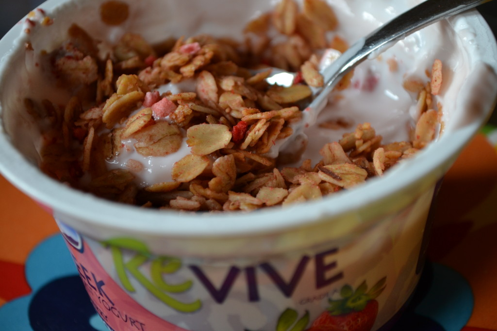 ReVive Yogurt with Gluten-Free Granola