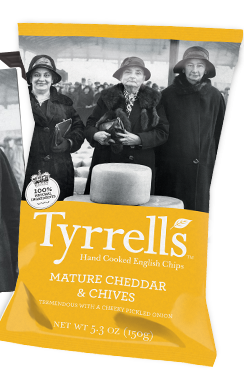 Tyrrell's Mature Cheddar and Chives