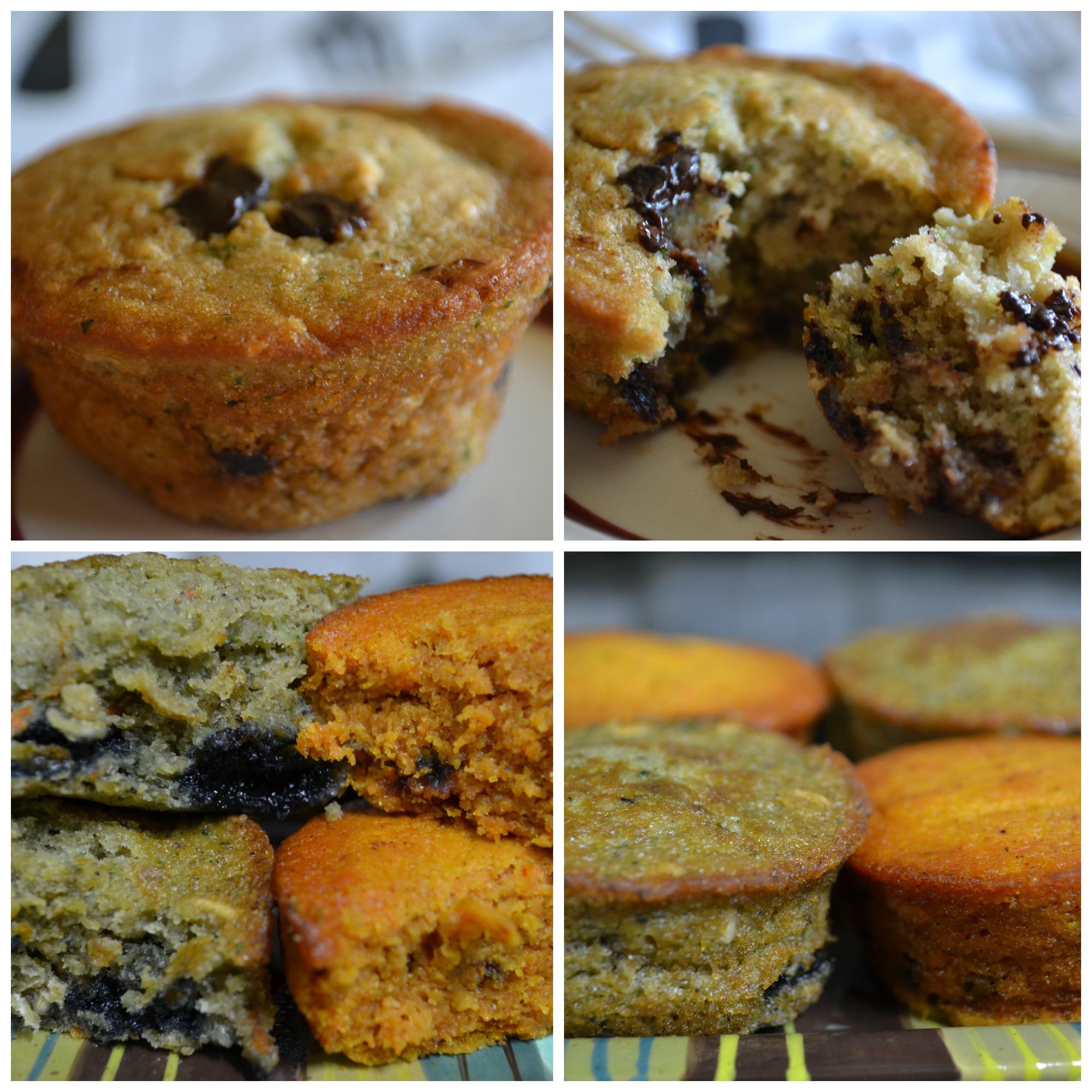 Veggie lites muffins delightfully gluten free tm - Garden lites blueberry oat muffins ...
